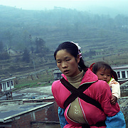 The Miao people in Guizho, south-west China. The Miao is one of the 55 recognized minority group in China.