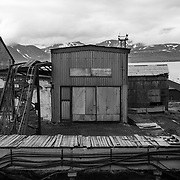 Russian Coal Mining Settlement of Barentsburg, Spitsbergen, Norway