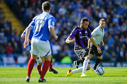 Kaid Mohamed (WAL) of Bristol Rovers in action - Photo mandatory by-line: Rogan Thomson/JMP - 07966 386802 - 19/04/2014 - SPORT - FOOTBALL - Fratton Park, Portsmouth - Portsmouth FC v Bristol Rovers - Sky Bet Football League 2.