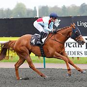 Flash Bang and S De Sousa winning the 2.40 race