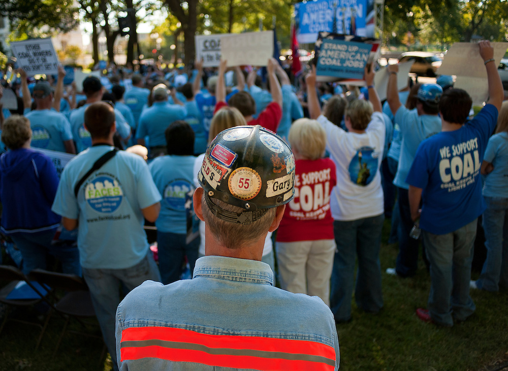 "Sep 15, 2010 - Washington, District of Columbia, U.S., - The Federation for American Coal, Energy and Security held a ""Rally for American Coal Jobs"" at the U.S. Capitol in Washington, D.C. on Wednesday.(Credit Image: © Pete Marovich/ZUMA Press)"