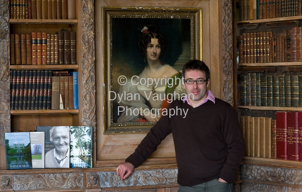 26/3/2008.Travel Writer, Historian, and Author Turtle Bunbury pictured at Lisnavagh House Rathvilley Co. Carlow..Picture Dylan Vaughan..