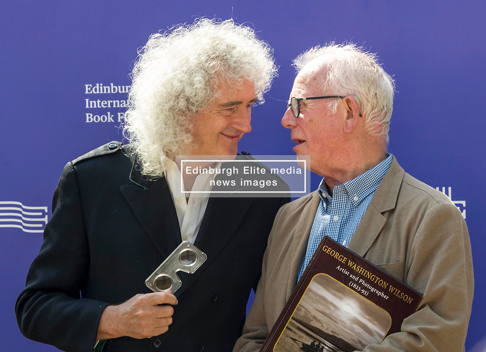 "Pictured: Brian May and Professor Roger Taylor<br /> <br /> Brian Harold May, CBE (born 19 July 1947) is an English musician, singer, songwriter, astrophysicist, and photographer. He is best known as the lead guitarist of the rock band Queen, and in 2001, he was inducted into the Rock and Roll Hall of Fame as one of the band's members. Also, in 2018 as a member of Queen, he received the Grammy Lifetime Achievement Award which recognises ""the most distinctive recordings in music history""<br /> <br /> He may be best known as the guitarist for legendary band Queen but Brian May will visit Aberdeen in August to celebrate the work of another great who rose to fame thanks to a very different royal connection.<br /> <br /> The musician and song writer will appear at the University of Aberdeen in his capacity as photographic historian and Director of The London Stereoscopic Company for the launch of a new book dedicated to Scotland's great Victorian photographer George Washington Wilson, who hailed from the city, written by the aptly named Professor Roger Taylor."