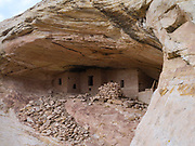 Photograph from the Eagles Nest Ruin, on Comb Ridge, San Juan County, near Bluff, Utah, USA.