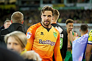 Norwich City goalkeeper Tim Krul (1) after the EFL Sky Bet Championship match between Norwich City and Blackburn Rovers at Carrow Road, Norwich, England on 27 April 2019.