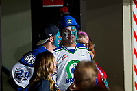 REGINA, SK - MAY 23: Swift Current Broncos' fans at the Brandt Centre on May 23, 2018 in Regina, Canada. (Photo by Marissa Baecker/CHL Images)