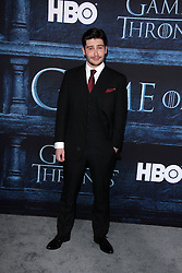"""Daniel Portman, at the """"Game of Thrones"""" Sixth Season Premiere, Dolby Theater, Hollywood, CA 04-10-16. EXPA Pictures © 2016, PhotoCredit: EXPA/ Photoshot/ Martin Sloan<br /> <br /> *****ATTENTION - for AUT, SLO, CRO, SRB, BIH, MAZ, SUI only*****"""