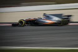 March 1, 2017 - Montmelo, Catalonia, Spain - ALFONSO CELIS (MEX) drives in his Williams Mercedes FW40 on track during day 3 of Formula One testing at Circuit de Catalunya (Credit Image: © Matthias Oesterle via ZUMA Wire)
