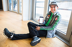 Jernej Damjan during official presentation of the outfits of the Slovenian Ski Teams before new season 2016/17, on October 18, 2016 in Planica, Slovenia. Photo by Vid Ponikvar / Sportida