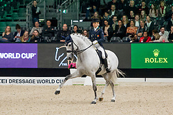 Caetano Maria, POR, Coroado<br /> FEI Dressage World Cup™ Grand Prix presented by RS2 Dressage - The Dutch Masters<br /> © Hippo Foto - Sharon Vandeput<br /> 14/03/19