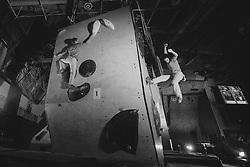 National championship in boulder climbing on November 29, 2015 in Kranj, Slovenia. (Photo By Grega Valancic / Sportida)