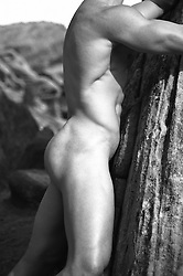 nude male form