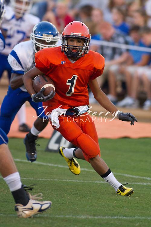August/27/10:  MCHS Varsity Football at Orange (Benefit Game).  Madison loses to Orange 44-19.