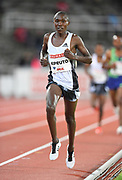 Rhonex Kipruto (KEN) wins the 10,000m in 26:50.16 during the Bauhaus-Galan in a IAAF Diamond League meet at Stockholm Stadium in Stockholm, Sweden on Thursday, May 30, 2019. (Jiro Mochizuki/Image of Sport)