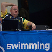 Sydney-17-22 March 2009: Australian swimming head coach Alan Thompson during the Australian Swimming Championships and Selection Trials for the XIII Fina World Championships.held at Sydney Olympic Park Aquatic Centre, Sydney, Australia from March 17-22, 2009 . Photo Tim Clayton