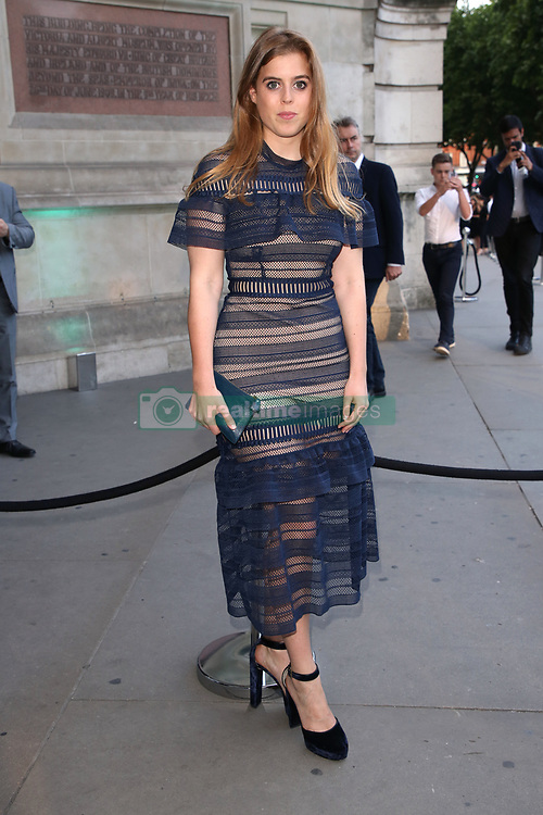 Princess Beatrice attending the V and A Summer Party held at the Victoria & Albert Museum, London. Picture Credit should read Doug Peters