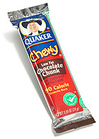 quaker chewy low fat chocolate chunk