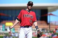 SCOTTSDALE, AZ - FEBRUARY 25:  Paul Goldschmidt #44 of the Arizona Diamondbacks stans on the field during the spring training game against the Colorado Rockies at Salt River Fields at Talking Stick on February 25, 2017 in Scottsdale, Arizona.  (Photo by Jennifer Stewart/Getty Images)