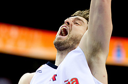Pau Gasol of Spain during basketball game between National basketball teams of Spain and F.Y.R. of Macedonia in Semifinals  of FIBA Europe Eurobasket Lithuania 2011, on September 16, 2011, in Arena Zalgirio, Kaunas, Lithuania. Spain defeated Macedonia 92-80.  (Photo by Vid Ponikvar / Sportida)