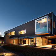Contemporary architecture in Southern California.