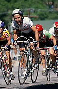 Participants in La Vuelta de Bisbee bike race, Bisbee, Arizona.©1988 Edward McCain. All rights reserved. McCain Photography, McCain Creative, Inc.