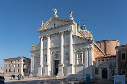 The Church of the Santissimo Redentore in Venice. From a series of travel photos in Italy. Photo date: Sunday, February 10, 2019. Photo credit should read: Richard Gray/EMPICS