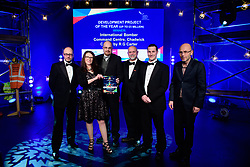 Development Project of the Year (Up to &pound;5million), sponsored by Lambert Smith Hampton.  Winner: R G Carter - International Bomber Command Centre, Chadwick Centre.<br /> <br /> Greater Lincolnshire Construction and Property Awards 2018 organised by Lincolnshire Chamber of Commerce and held at The Engine Shed, Lincoln.<br /> <br /> Picture: Chris Vaughan Photography<br /> Date: February 6, 2018