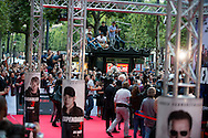 Fans attend the ' Expendable 3' cast for the  Movie Premiere at the 'UGC Normandie, in Paris.<br /> <br /> Paris, France 07 août 2014.