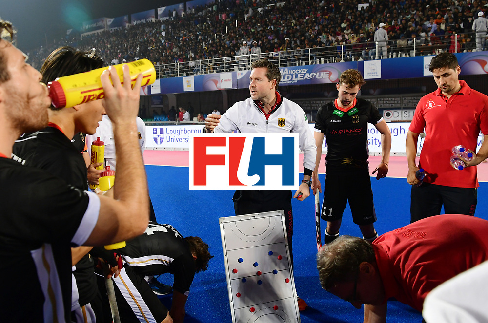 Odisha Men's Hockey World League Final Bhubaneswar 2017<br /> Match id:10<br /> India v Germany<br /> Foto: coach Stefan Kermas (Ger) <br /> WORLDSPORTPICS COPYRIGHT FRANK UIJLENBROEK