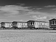 Coast to Coast III. Holiday homes at St Bees.