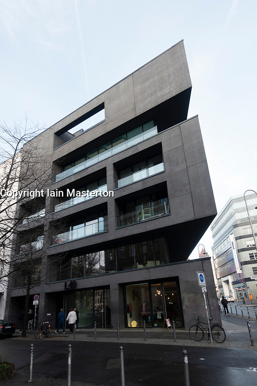 Modern architecture of new building in Mitte Berlin, Germany