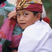 Bali, Ubud village boy
