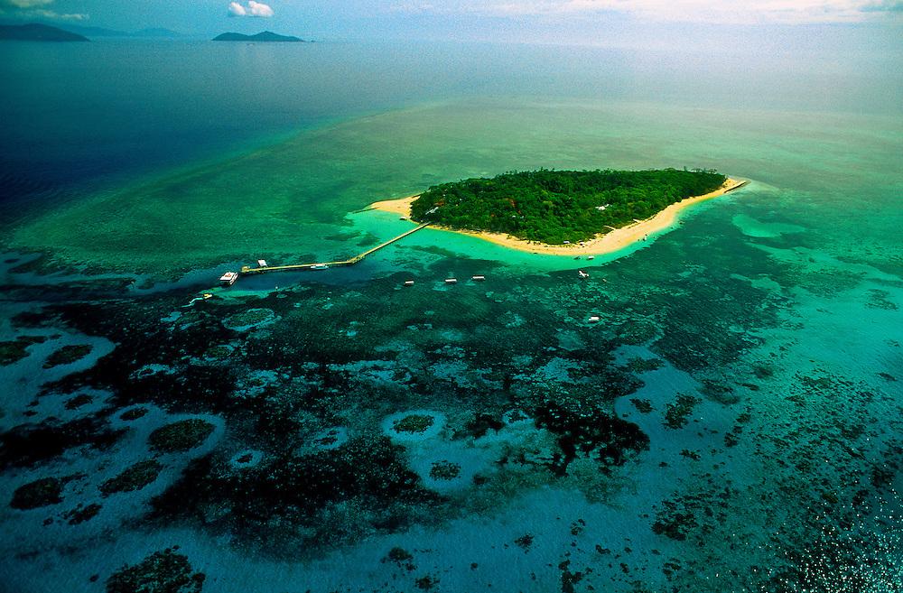 Green Island, Great Barrier Reef, Queensland, Australia