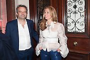 ALIAI FORTE; MARK HIX, Rocco Forte's Brown's Hotel Hosts 175th Anniversary Party, Browns Hotel. Albermarle St. London. 16 May 2013