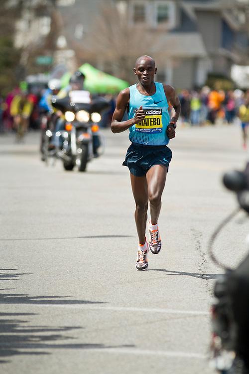 2013 Boston Marathon: Levy Matebo, Kenya