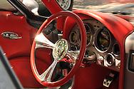 Red Corvette Steering Wheel