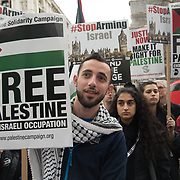 Protest for Gaza and Stop the Killing, London, UK