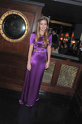 KATIE READMAN at the launch of Beulah's collaboration with Hennessy Gold Cup and a preview of the SS13 Collection held at The Brompton Club, 92b Old Brompton Road, London SW7 on 18th October 2012.
