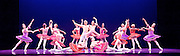 Les Ballets Trockadero de Monte Carlo <br /> at the Peacock Theatre, London, Great Britain <br /> press photocall <br /> 16th September 2015 <br /> <br /> <br /> Programme 1<br /> press night 16th September 2015 <br /> <br /> Paquita <br /> Chase Johnsey as Yakaterina Verbosovich<br /> <br /> Giovanni Goffredo as Sergey Legupski <br /> <br /> and company <br /> <br /> <br /> Photograph by Elliott Franks <br /> Image licensed to Elliott Franks Photography Services