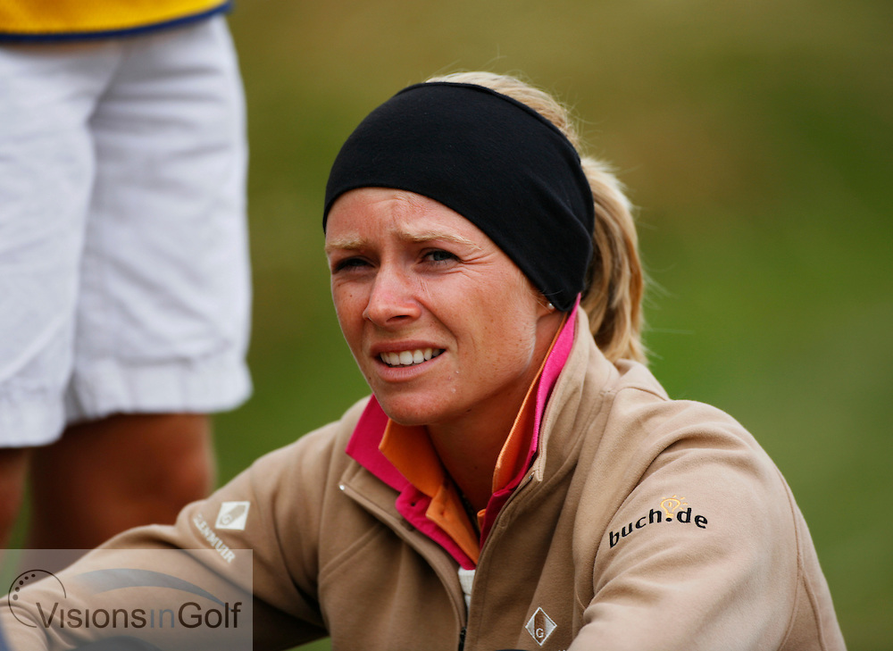 Anja Monke on the second day.<br /> Weetabix Womens British Open 2006, Royal Lytham St. Annes, 040806<br /> Picture Credit: Mark Newcombe / visionsingolf.com