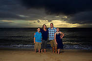 Family Portrait Session in Maui, Hawaii