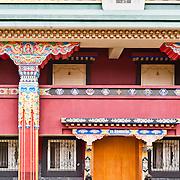 Tibetan Karma Kagyu Monastery in Zuo Zhen Village, Tainan County, Taiwan