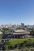Capitol Bldg., Honolulu, Hawaii<br />