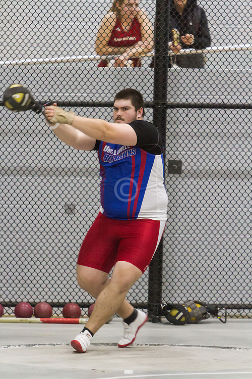 Boston University Multi-team indoor track & field, men weight throw, UMass Lowell