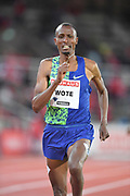 Aman Wote (ETH) places seventh in the 1,500m in 3:42.68 during the Bauhaus-Galan in a IAAF Diamond League meet at Stockholm Stadium in Stockholm, Sweden on Thursday, May 30, 2019. (Jiro Mochizuki/Image of Sport)