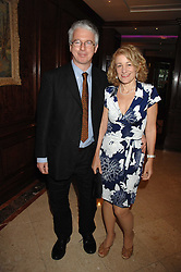 MR & MRS PETER STOTHARD at a party to celebrate the 180th Anniversary of The Spectator magazine, held at the Hyatt Regency London - The Churchill, 30 Portman Square, London on 7th May 2008.<br /><br />NON EXCLUSIVE - WORLD RIGHTS