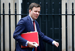 © Licensed to London News Pictures. 10/05/2016. London, UK. Chief Secretary to the Treasury GREG HANDS arrives at Number 10 Downing Street in Westminster, London for cabinet meeting. Photo credit: Tolga Akmen/LNP
