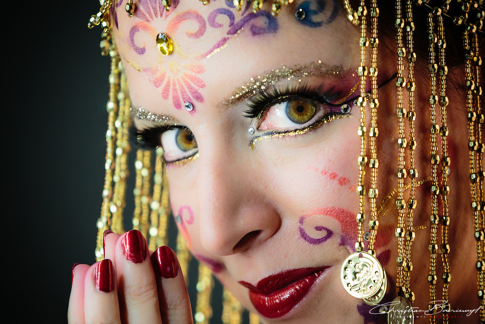 Indian gypsy. Mysterious and beautiful like the night itself. November 2014.