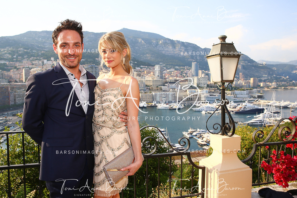 MONTE-CARLO, MONACO - JUNE 09:  Kim Matula and Ben Goldberg attends a Cocktail Reception at the Ministere d'etat on June 9, 2014 in Monte-Carlo, Monaco.  (Photo by Pool Barson/FilmMagic)