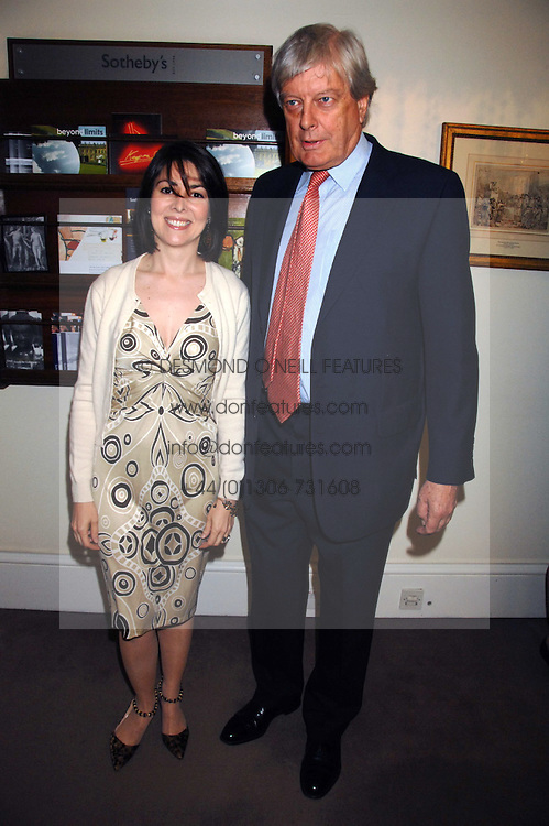 ARCHIE & SHARON STIRLING at the Sotheby's Summer Party 2007 at their showrooms in New Bond Street, London on 4th June 2007.<br /><br />NON EXCLUSIVE - WORLD RIGHTS